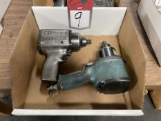 """Lot Comprising (2) Cleco 1/2"""" Drive Air Impact Wrench"""