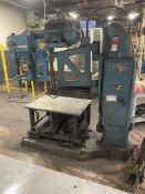 """FOOT-BURT/ Hammond Cleveland Drill Press, s/n 2547-64, 95-760 RPM, 28"""" x 40"""" x 19"""" Table, (Asset #"""