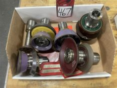 Lot of Assorted Diamond Wheels and Arbors (for Walter Machine lot 124)