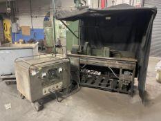 MAGNAFLUX KCH-3D Magnetic Particle Inspection Equipment, s/n 54461