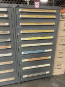 Stanley Vidmar 10-Drawer Modular Cabinet