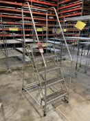 Gillis 5-Step Rolling Safety Ladder