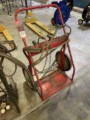 Oxy-Acetylene Cart w/ Hoses and Regulators