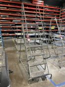 Tri-Arc 7-Step Rolling Safety Ladder