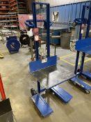 Vestil LLW-242060-4SFL 500 lb. Capacity Hand Winch Cart