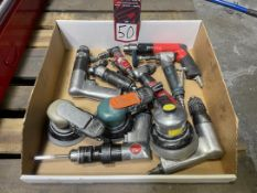 Lot of Assorted Air Tools