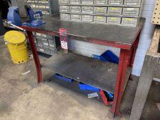 "34"" x 48"" Work Bench w/ Gibraltar 4"" Bench Vise (Located at 4200 West Harry St., Wichita, KS 67209)"