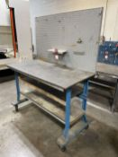 "30"" x 60"" Work Bench (Located at 4200 West Harry St., Wichita, KS 67209)"