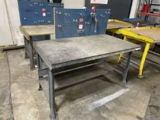 "34"" x 60"" Work Bench (Located at 4200 West Harry St., Wichita, KS 67209)"