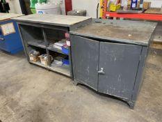 "22"" x 54"" Work Bench w/ Storage Cabinet (Located at 4200 West Harry St., Wichita, KS 67209)"