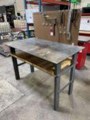 "33"" x 60"" Work Bench (Located at 4200 West Harry St., Wichita, KS 67209)"