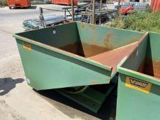 Vulcan 2 Yd. Self Dumping Hopper (Located at 4200 West Harry St., Wichita, KS 67209)