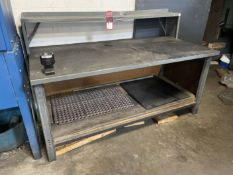 "36"" x 72"" Work Bench w/ HSK63 Tool Tightening Fixture (Located at 4200 West Harry St., Wichita, KS"