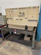 "37"" x 68"" Work Bench (Located at 4200 West Harry St., Wichita, KS 67209)"