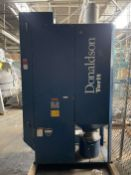 DONALDSON TORIT DF03-3 Dust Collection System, s/n 2522009, 5 HP, w/ Delta P Control