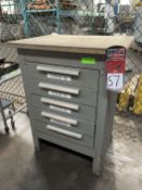 Wood Top Tool Cabinet