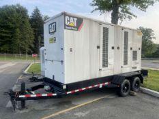 2007 CATERPILLAR XQ400-C15-400AG Generator Set, s/n X4R00345, 456 KVA, 365 KW Prime, (709 Hours)