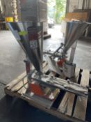 2014 ARBO Vibratory Tray Feeder w/ AF14-CS-110-15 Drive and SS Hopper, s/n V2691