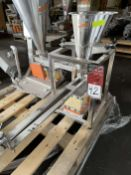 2013 ARBO Vibratory Tray Feeder w/ AF14-CS-110-15 Drive and SS Hopper, s/n V2665, w/ Load Cell
