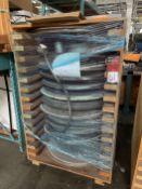 "Crate of 36"" Screens For Separator"