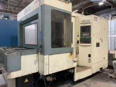"NIIGATA HN50C Horizontal Machining Center,, s/n46230138, Fanuc 15M CNC Control, (2) 19.7"" Pallets,"
