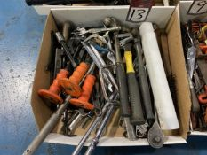 Lot of Hammers and Hand Tools