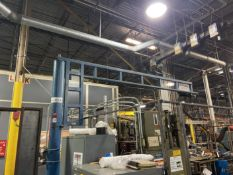 Gorbel 1/8 Ton FMJ, approx 13' Reach x 10' High. Crane # 00140 (Attention: Will be sold LOADED.