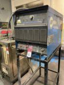 Miller Deltaweld 652 Power supply on stand, s/n LF430819C Asset # WPS 16