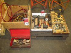 Assorted Hand Tools w/ Air Hose