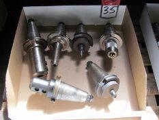 (6) CAT 50 Tool Holders
