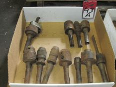 (11) Assorted R8 Tool Holders