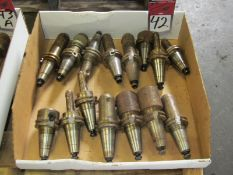 (15) CAT 40 Tool Holders