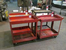 (4) Assorted Shop Carts