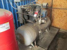 10 HP Ingersoll Rand #TS-30 2-Stage Air Compressor, 220 Volt w/ 80 Gallon Tank