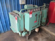 25 HP Sullair #LS-10 Rotary Screw Air Compressor, 230/460 Volt