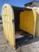 JUSTRITE 4-Drum Storage Shed