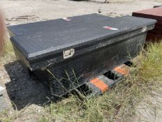 Diamond Plated Truck Bed Tool Box