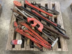Pallet of Chain Wrenches