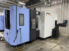 2010 DOOSAN HP 4000 Horizontal Machining Center, s/n HP410211, Fanuc 31i-A Control