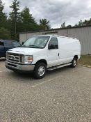 2012 FORD Econoline E250 Work Van, VIN 1FTNE2EW6CDB03808