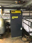 ZEKS HeatSink CFX 250HSGAF00 Air Dryer, s/n 508851, 1 HP
