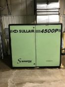 SULLAIR 4500P Rotary Screw Type Air Compressor, s/n 200805300089