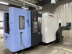 2012 DOOSAN HP 4000 Horizontal Machining Center, s/n MH0004-000418, Fanuc 31i-A Control