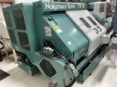 NAKAMURA-TOME TW-10 Turning Center, s/n 104807, Fanuc 18T Control