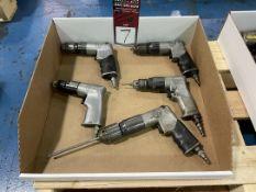 Lot of (5) Pistol Grip Pneumatic Drills
