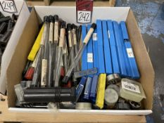 Lot of Assorted Gun Drills, Reamers, Taps and Dies