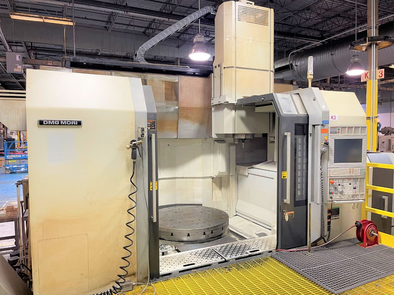 Phase 2 - Surplus to the Continuing Operations of Halliburton DBS Conroe, TX - CNC Machining, Finishing, Welding & Plant Support