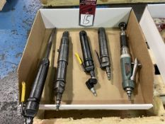 Lot of (4) Air Scalers and Air Finishing Tool