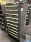 STANLEY VIDMAR 10-Drawer Modular Tool Cabinet