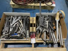 Lot of Assorted Wrenches and Punches